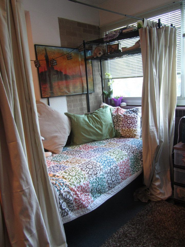 25 Best Ideas About Dorm Room Privacy On Pinterest Dorm Room Curtains Dorm Bunk Beds And