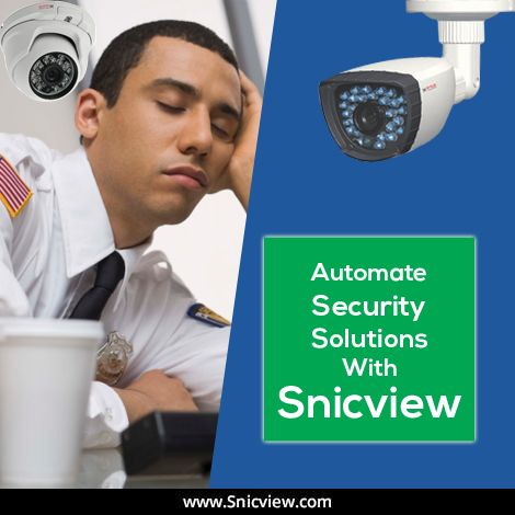 Gone are the days when people trusted guards for the security! Time to automate your security with SnicView,