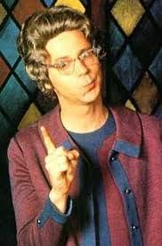 Dana Carvey as Church Lady on Saturday Night Live