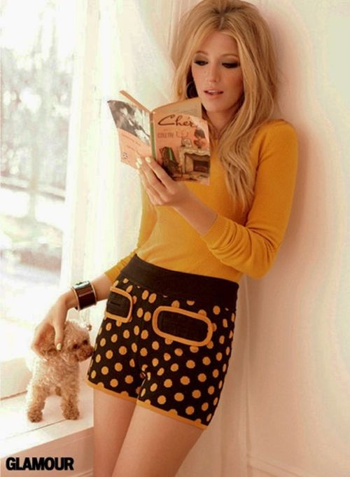 gossip girl fashion style #1960s #serenavanderwoodsen #mustard #brown