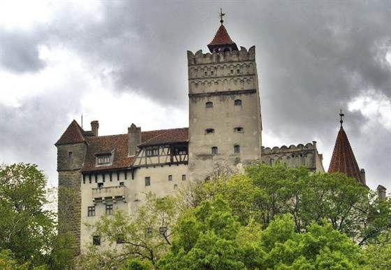 Bran Castle AKA Dracula's Castle located in Transylvania, Romania