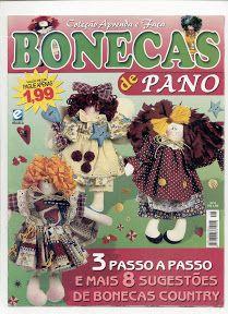 Coleçao Aprenda e Faça Bonecas de Pano n08 - Jane Silva - Álbuns da web do Picasa