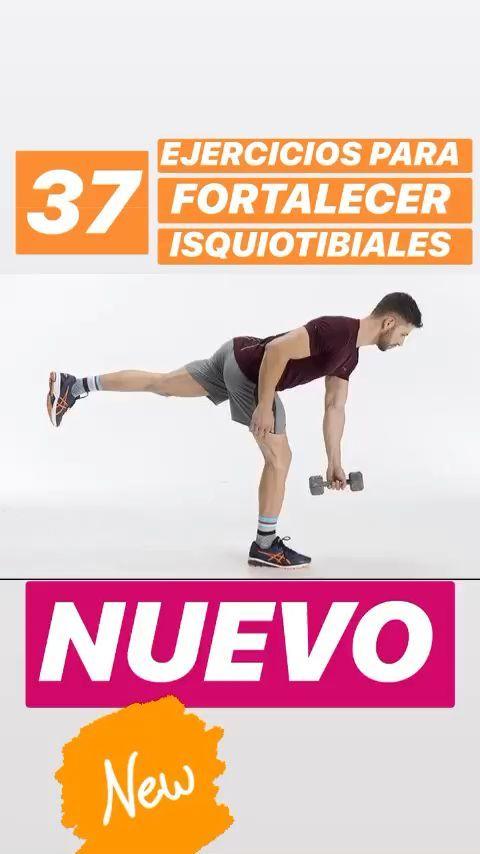 Los isquiotibiales se utilizan a la hora de flexionar la rodilla y como extensores de cadera. Son músculos antagonistas y desempeñan su labor durante la carrera de forma excéntrica, siendo los músculos que más sufren en las jornadas de entrenamiento, por esta razón es vital fortalecerlos, para evitar cualquier tipo de lesión.A continuación, te enumeramos una serie de ejercicios para fortalecer tus isquiotibiales Hiit Workout At Home, Post Workout Food, Butt Workout, Biceps Femoral, Runner Tips, Gluteus Medius, Easy Science, Wellness, Workout For Beginners