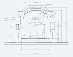 Recording Studio Control Room Floor Plan