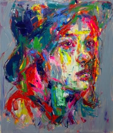 "Saatchi Art Artist Jeong Ah Lim; Painting, ""an ordinary person"" #art"
