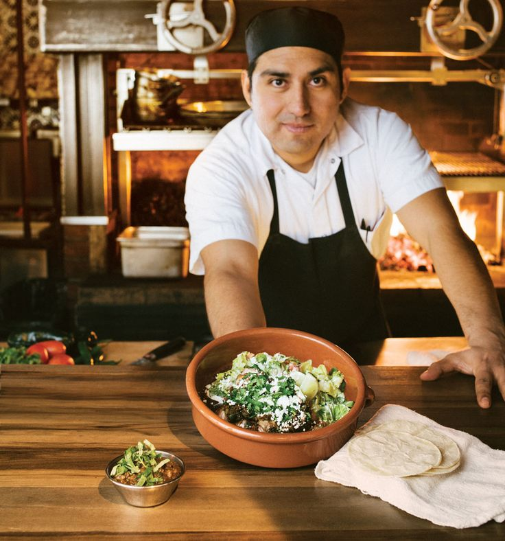 The grill is the starting point for delicious Mexican dishes at Native Tongues.