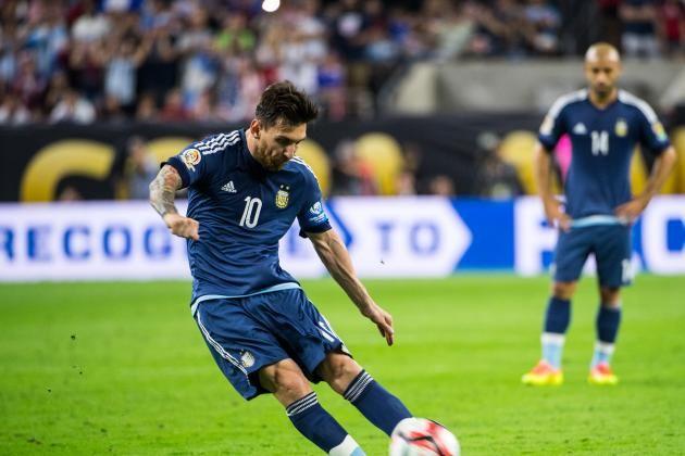 Argentina vs. Chile: Live Score Highlights from Copa America Centenario Final