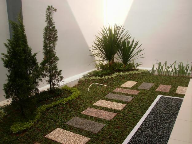 taman minimalis dan tanaman hias