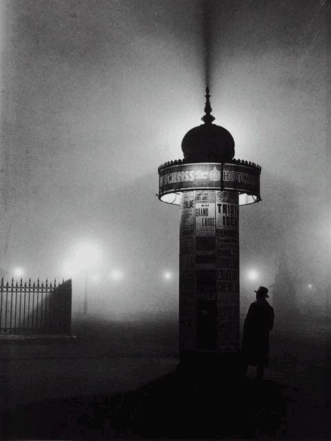 I like this photo by Brassai because the light coming out of the lighthouse outlines it and creates a more interesting composition and makes it easier to focus on it.