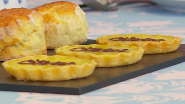 This lemon tartlets recipe appeared as one of the technical challenges in the Finale episode of The Great British Baking Show.