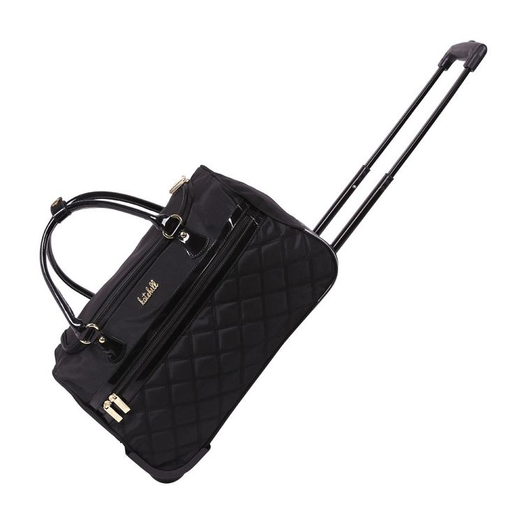 Kate Hill - Juliette 46cm Rolling Duffle (carry on luggage) $80