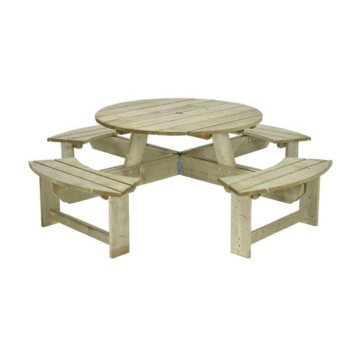 Table de pique-nique ronde 289E