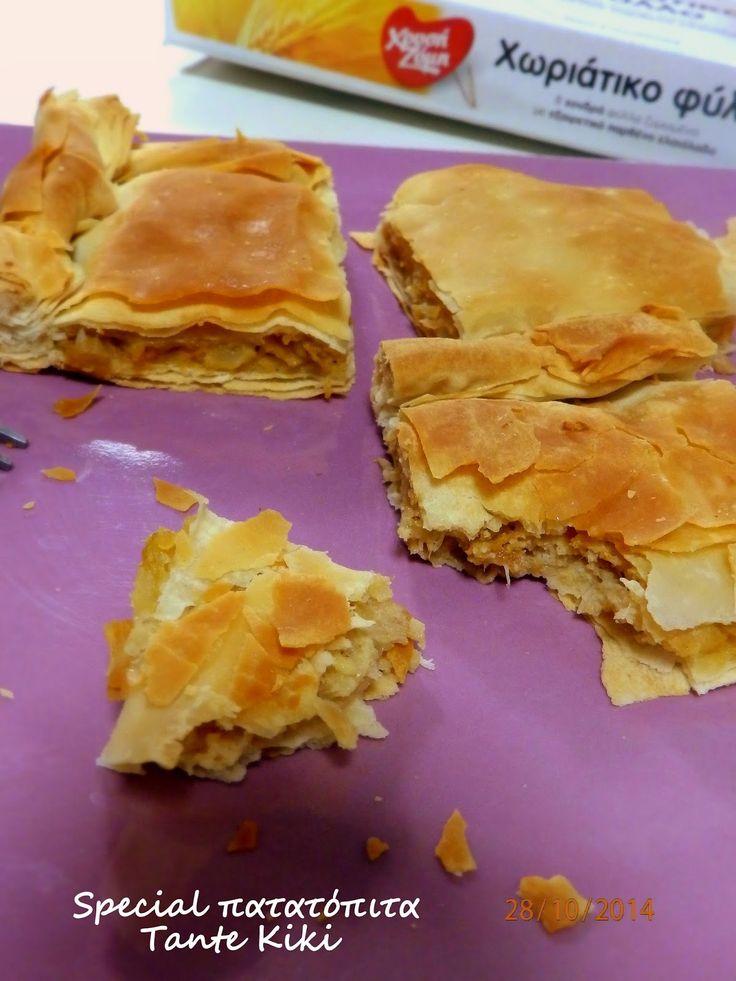 Tante Kiki: Πατατόπιτα σπέσιαλ