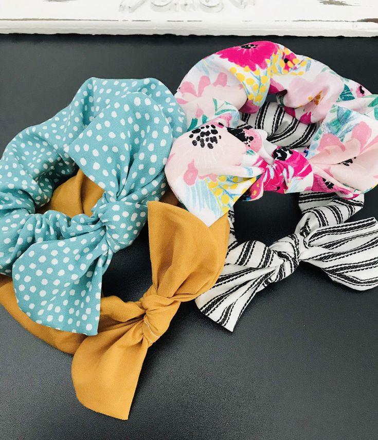 Scrunchies, Cute Scrunchies, Best Friend Gifts, Floral ...