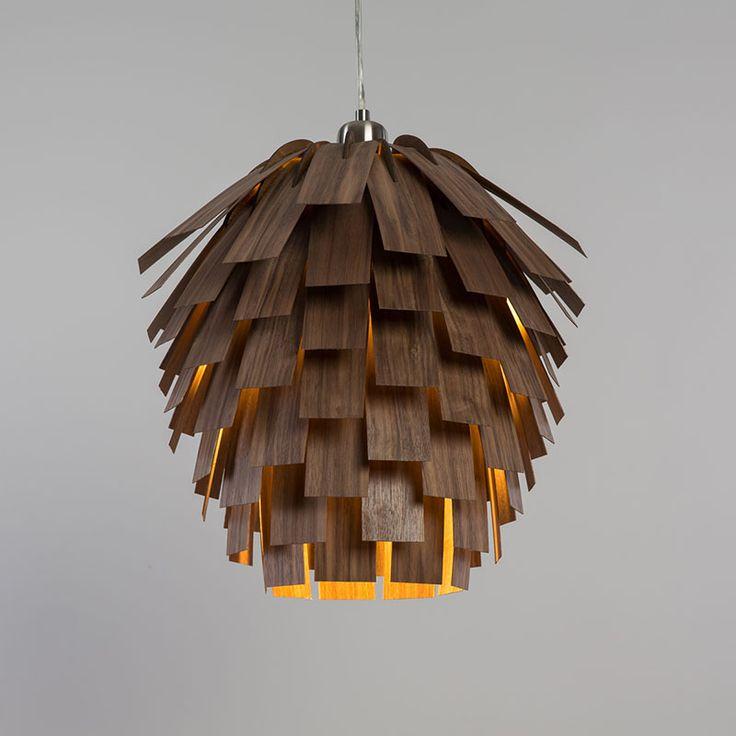 wood lighting. Tom Raffield Scots Light Wooden Lampshade In Walnut Wood Lighting