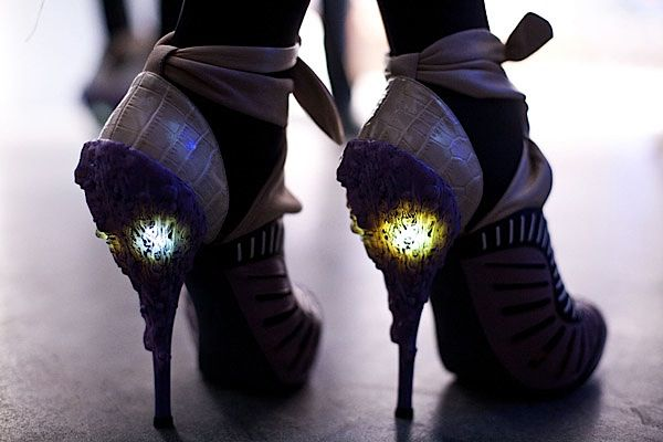 Bizarros- #light and #led for #fashion #shoes  Francesca Castagnacci