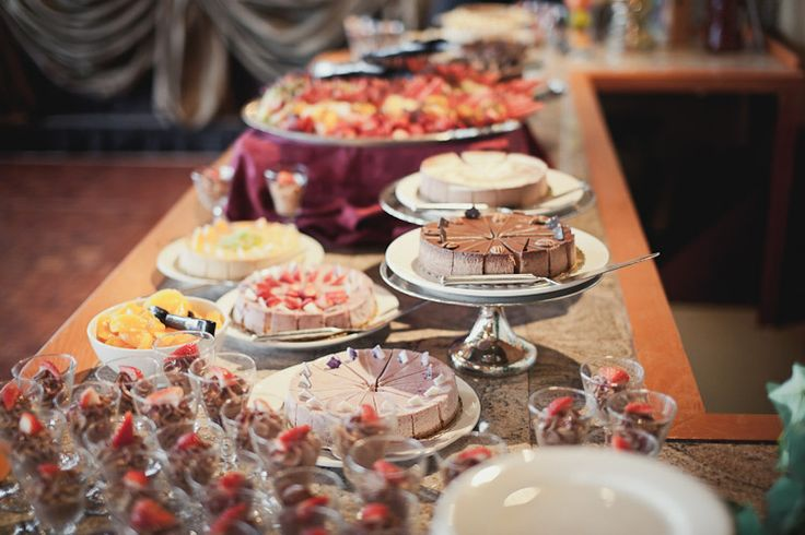 Dessert Table in the Gallery Room