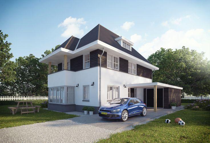 Jaren 30 woning - Buitenhuis Villabouw