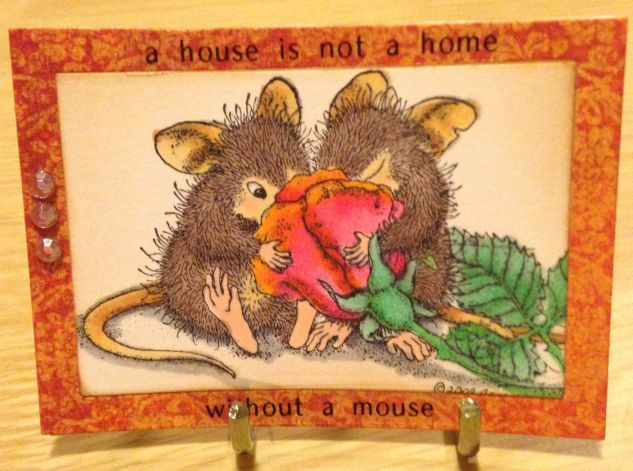 House Mouse. A house is not a home without a mouse