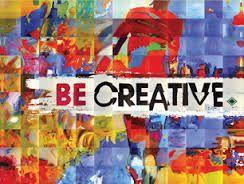 Bildergebnis für be creative