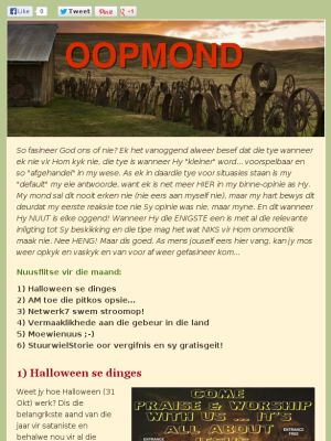 Check out this Mad Mimi newsletter - Die Moewie / Oom Karoolus en Lente