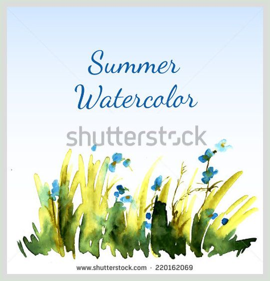 cf0f-vector-postcard-depicting-the-grass-with-flowers-made-a-living-watercolor-paint-for-your-design-220162069.jpg