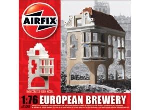 Ruined European Brewery