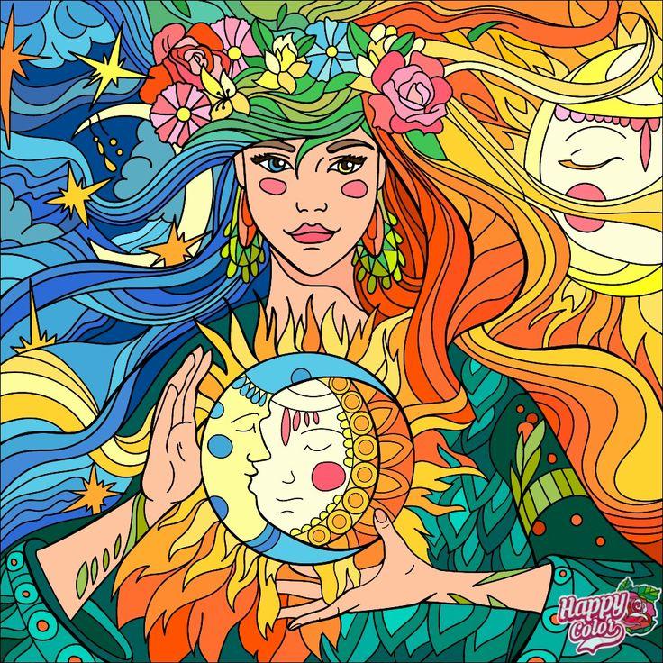 Happy Color image by April Lea Colorful art, Happy colors