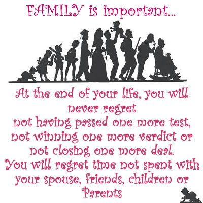 Quotes About The Importance Of Family Alluring 49 Best Momsdadsfamily Images On Pinterest  Daddy's Little