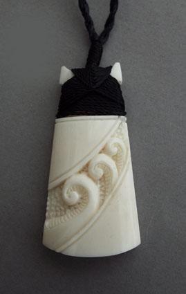 Maori+Bone+Toki+Necklace+with+Koru  http://www.shopenzed.com/maori-bone-toki-necklace-with-koru-xidp975984.html
