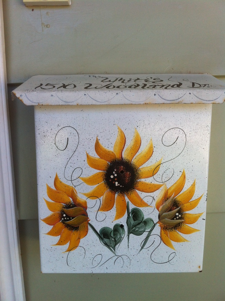 57 best MAILBOX COVERS images on Pinterest | Magnetic mailbox covers Kitchen Decorating Ideas Sunflowers Ens on