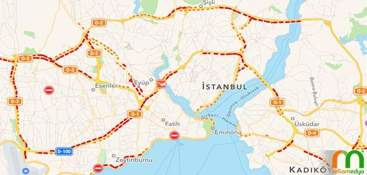 Apple Trafik Haritasını Getirdi. Devamı; http://goo.gl/DDV3xI #Apple #harita #trafik #durum #güncelleme