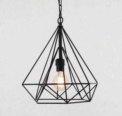 Pendelleuchten Wohnzimmerlampe Metall Gestell Schlichtes Design