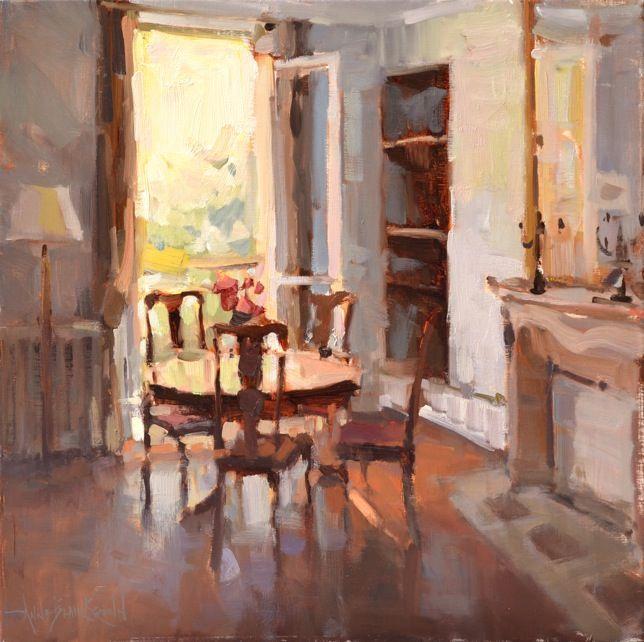 american impressionism society 2015 show catalog anne blair brown ais a paris apartment oil - Brown Apartment 2015
