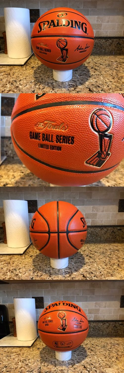 Balls 21208: Official Spalding Nba Finals Game Ball Series Composite Leather Basketball BUY IT NOW ONLY: $64.95