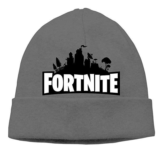 ef237faf33a Fortnite -  1 Victory Royale Unisex Winter Hats Beanie Skull Caps Knit Hat  Ski Cap Cuff Beanie Hats