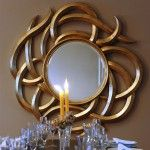 Home Decor Mirror – Adonis Pauli Medusa Mirror, Gold