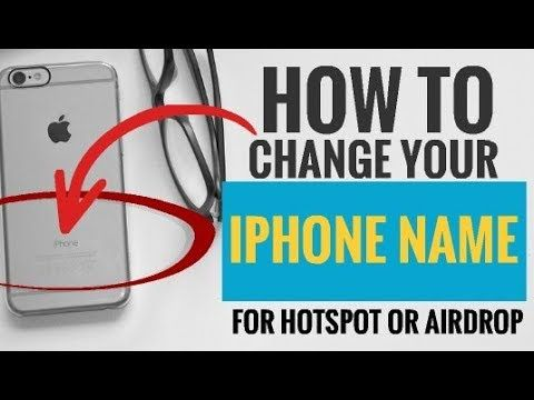 If You Are Interested To Know How To Change Your Iphone Name