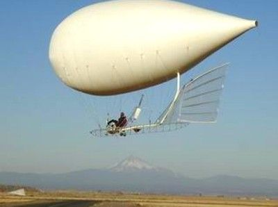 "In the book I'm working on, called ""The Village In The Sky,"" one of the pivotal characters, Piroska, operates a balloon very much like this."