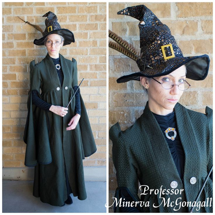 Harry Potter Costume Ideas, Delicious Reads, Professor McGonagall Costume