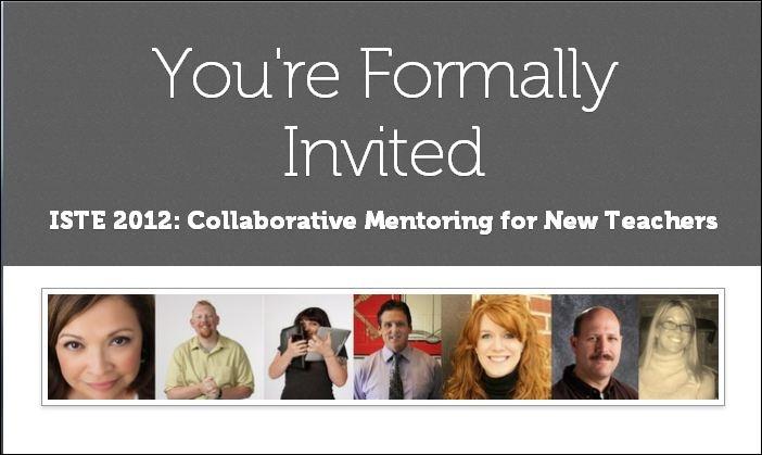 Collaborative Mentoring for New Teachers #ISTE12 - Google Docs