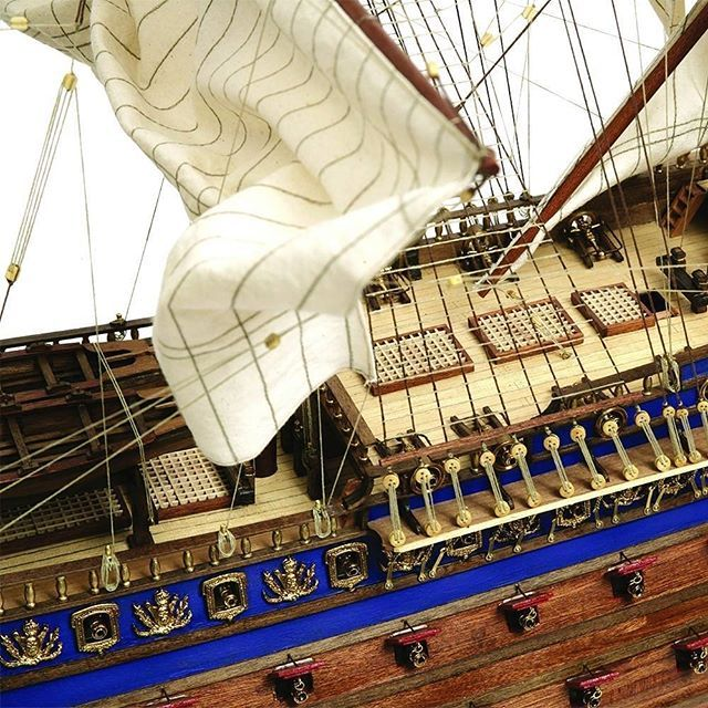 Our Soleil Royal scale model ship is an accurate replica of this beautiful baroque ship. What is your favourite ship?