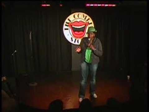 Gina Yashere at The Comedy Store London she is a crack-up
