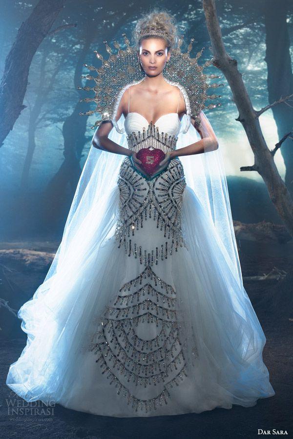 Dar Sara Wedding Dresses 2014 — Vienna Bridal Collection | Wedding Inspirasi