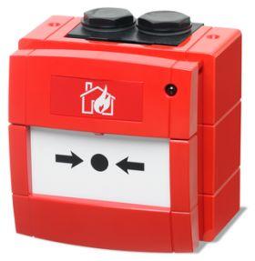 SECURITATE :: Antiincendiu :: Butoane de incendiu :: BUTON DE INCENDIU ADRESABIL BENTEL FC421CP