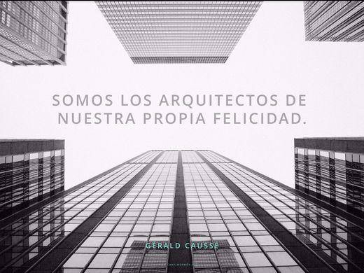 Somos los arquitectos de nuestra propia felicidad. -Gérald Caussé #Citadeldia