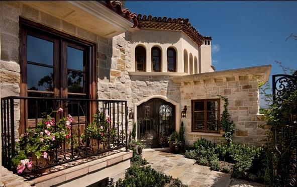 Fachadas de casas rusticas de dos pisos con balcon - Fachada de casas rusticas ...