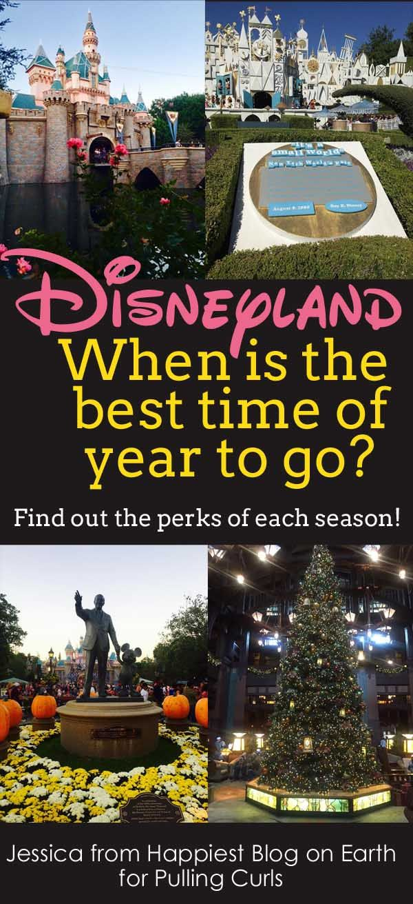 Disneyland is open 365 days, giving you ample opportunity to mull over which season (or day) is best. When is the best time of year to go to Disneyland?