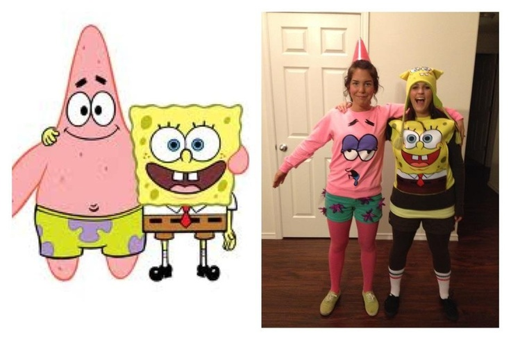 Spongebob And Patrick Star Halloween Costumes Halloween  sc 1 st  Meningrey : halloween costumes spongebob  - Germanpascual.Com