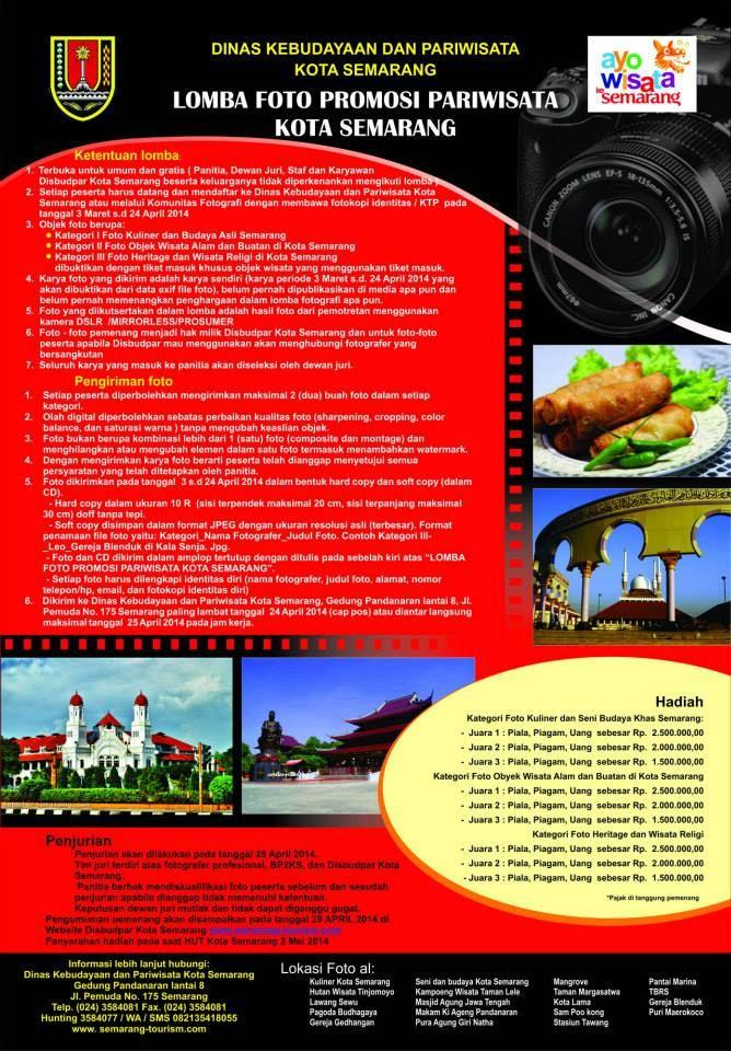 Lomba Foto Promosi Pariwisata Kota Semarang